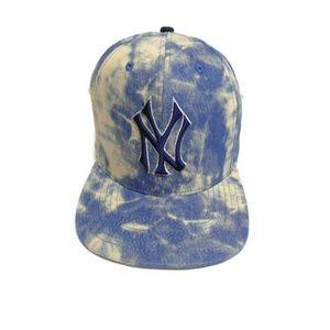 American Needle Tie Dye New York Yankees Hat Cap